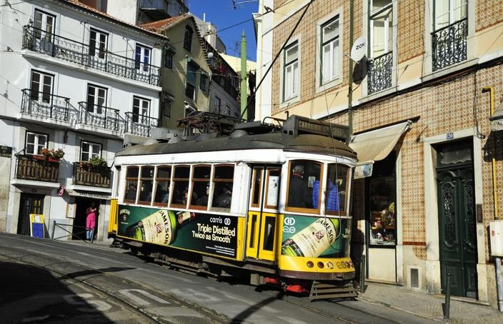 Tageskarte Lissabon