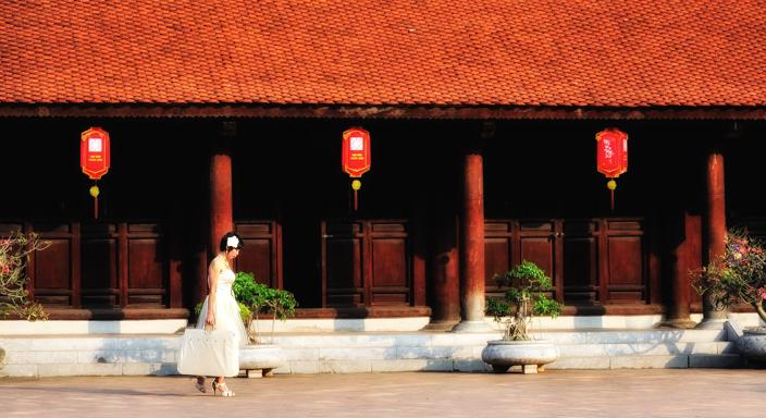 Asien, Vietnam, Koffer