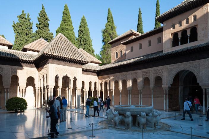 Granada Alhambra Nasridenpalast