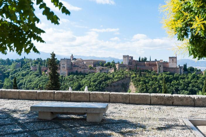 Granada Alhambra Mirador de San Nicolas