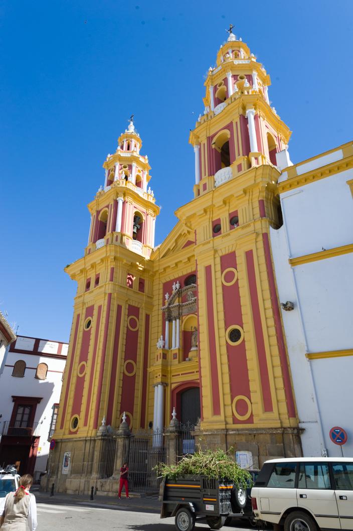 Sevilla Iglesia Idolfonso