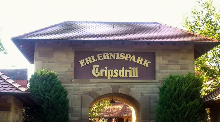 Tripsdrill Eingang