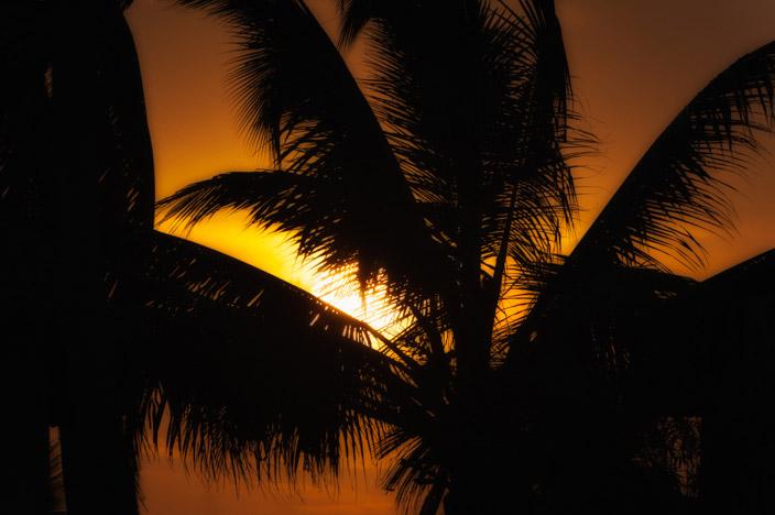 Afrika Sansibar Sonnenuntergang