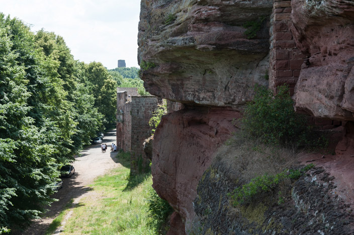 Saverne Burg Haut Barre