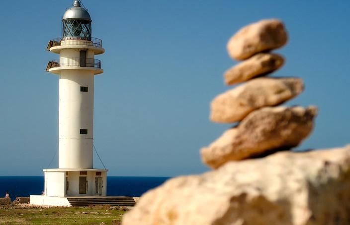 Formentera Leuchtturm Cap de Barbaria