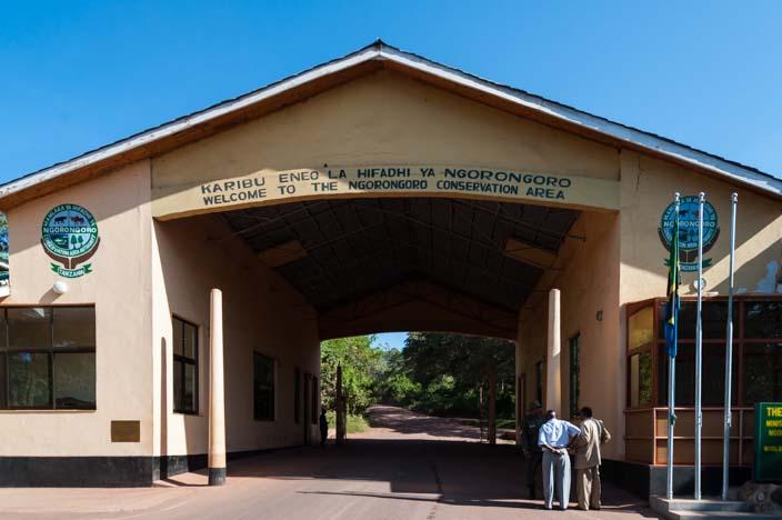 Ngorongo Park Gate, Tansania