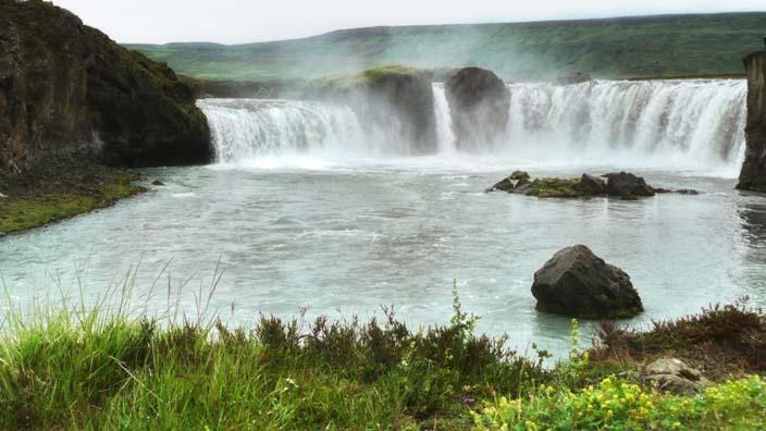 island godafoss