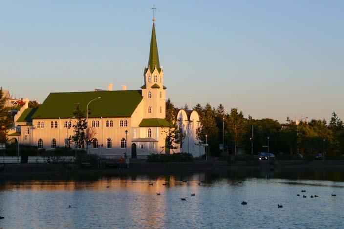 Island Reykjavik Zentrum
