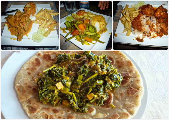 Essen in Jambiani Sansibar