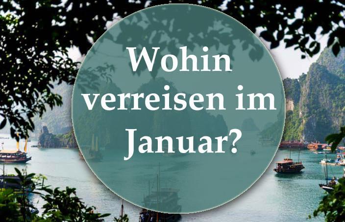 Wohin verreisen im Januar
