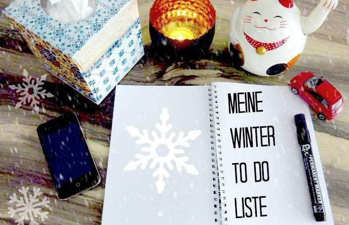 Winter to do liste