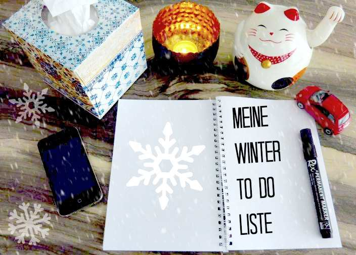 Winter to do liste
