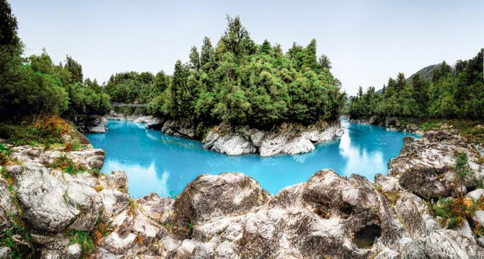 Neuseeland Hokitika Gorge