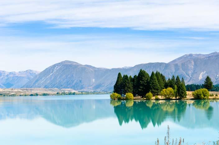 Neuseeland Lake Pukaki