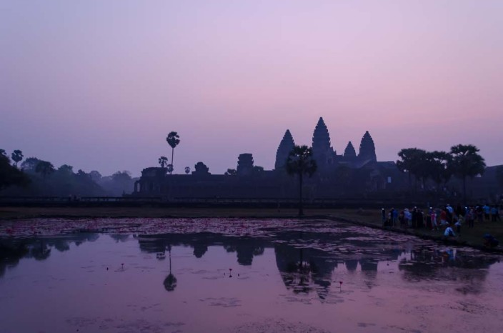 Angkor-Wat-Sonnenaufgang
