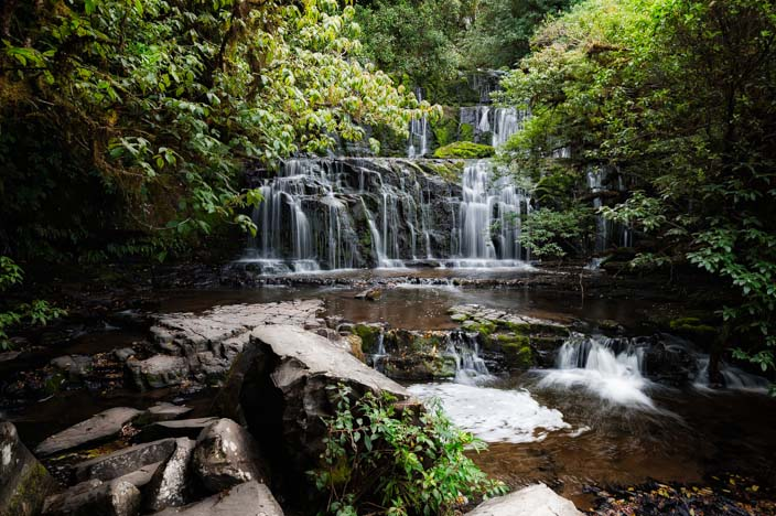 Purakaunui-Falls-Neuseeland