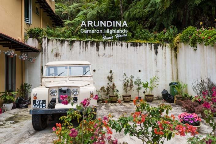 Arundina Guesthouse Cameron Highlands Malaysia Reisebericht
