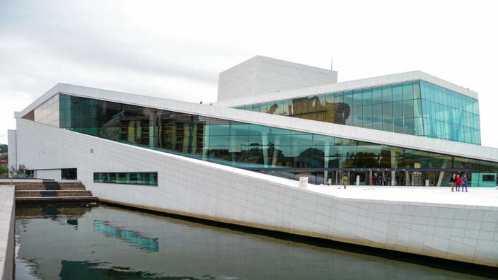 Wohin verreisen im Juni - Norwegen, Oslo, Oper