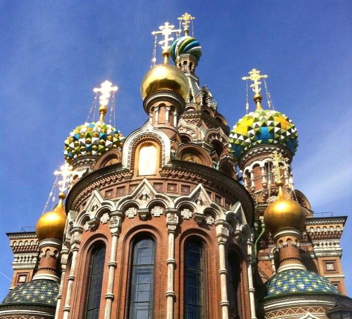 Wohin verreisen im Juli - Blutskirche - St Petersburg