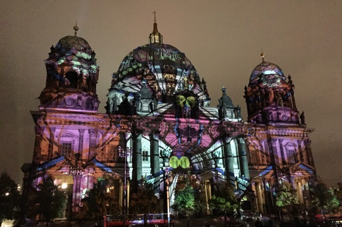 Festival of Lights Berlin 2015 Berliner Dom
