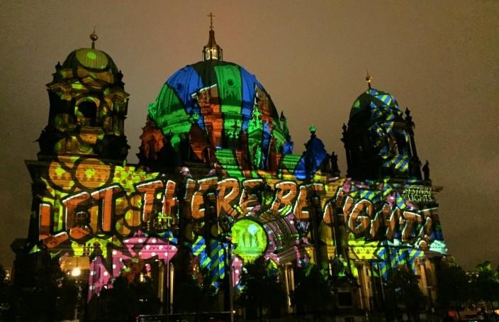 Festival of Lights Berlin 2015 Berliner Dom