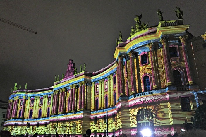 Festival of Lights Berlin 2015 Humboldt Universität
