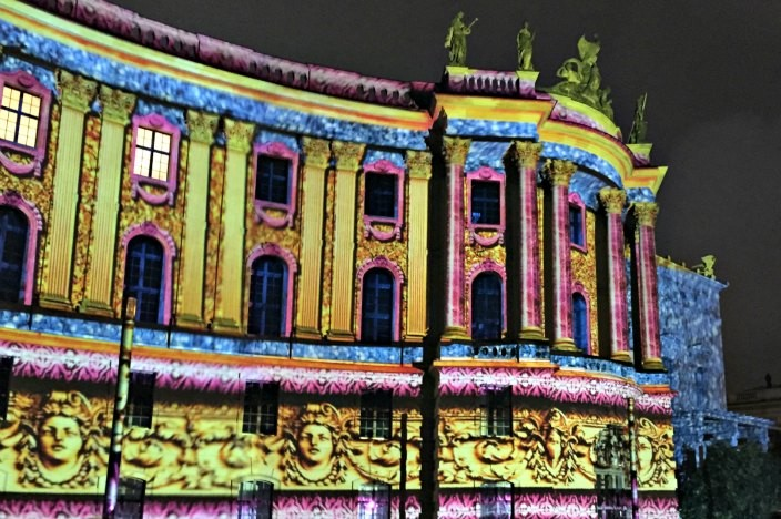 Festival of Lights Berlin 2015 Humboldt Universität
