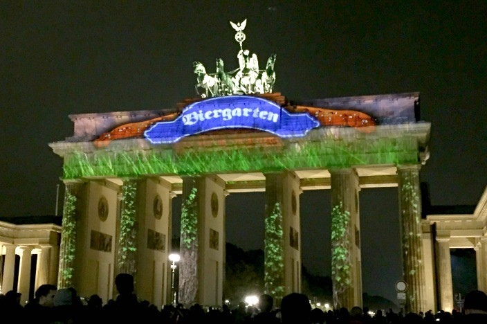 Festival of Lights Berlin 2015 Brandenburger Tor