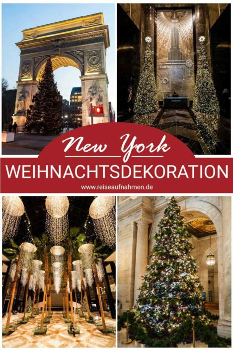 Weihnachten in New York Pinterest Pin