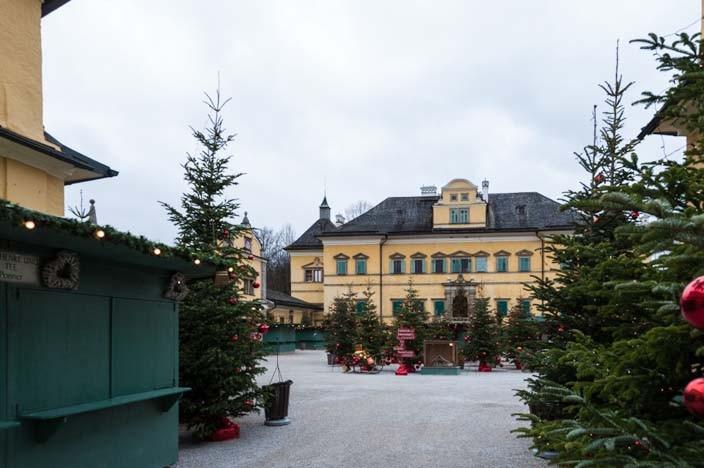 24 Stunden Salzburg Christkindlmarkt Schloß Hellbrunn