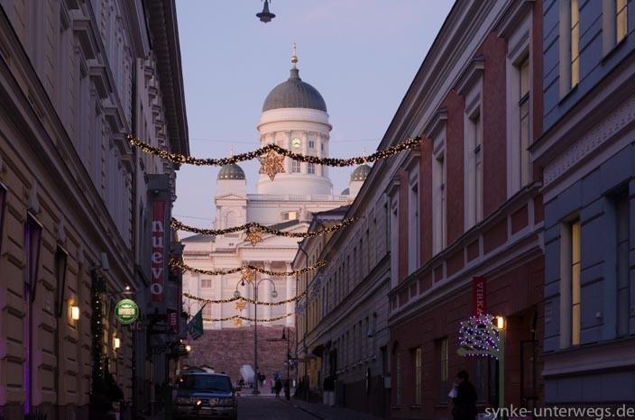 Vorweihnachtszeit in Helsinki