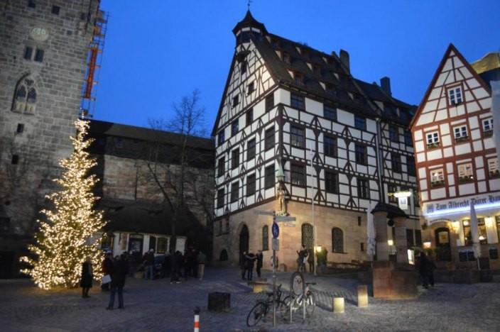 Vorweihnachtszeit in Nürnberg Altstadt