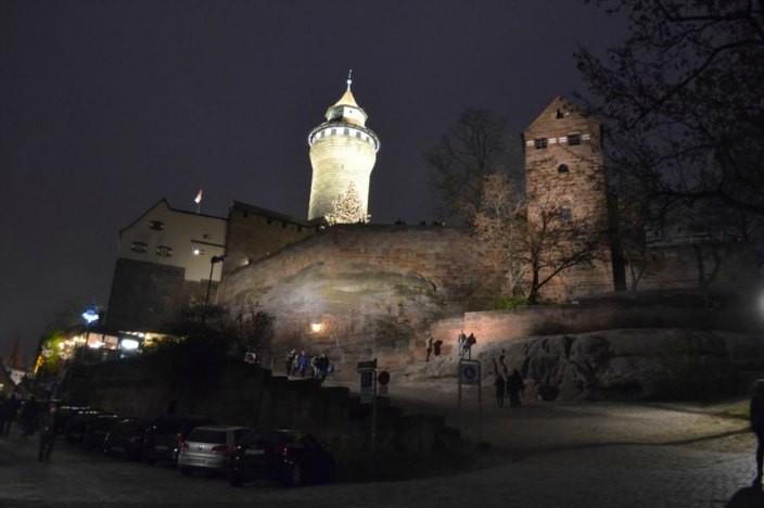 Vorweihnachtszeit in Nürnberg Kaiserburg
