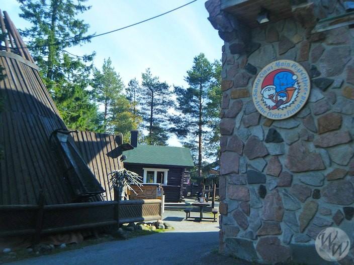 Vorweihnachtszeit in Rovaniemi am Polarkreis