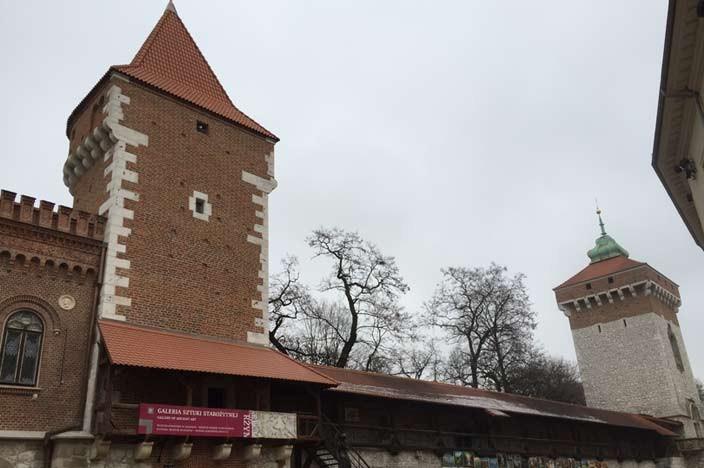Sehenswürdigkeiten Krakau Florianstor