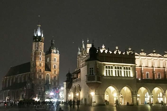 Sehenswürdigkeiten Krakau Marktplatz Marienkirche