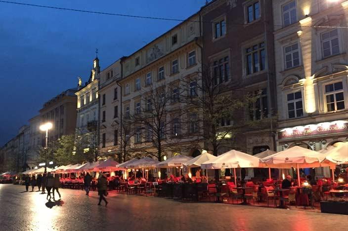 Sehenswürdigkeiten Krakau Marktplatz