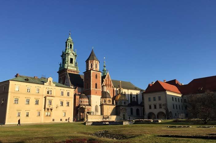 Sehenswürdigkeiten Krakau Schloss Wawel