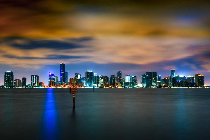 Reisepannen Skyline Miami