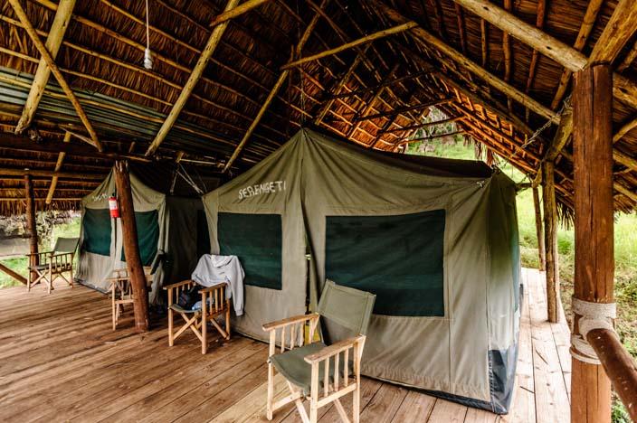 Tansania Rundreise Ikoma Wild Camp
