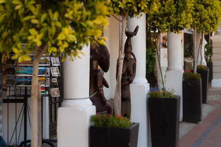 Südafrika Rundreise Franschhoek Shopping