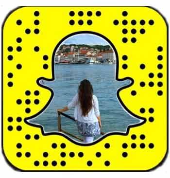 Snapchat Reiseaufnahmen