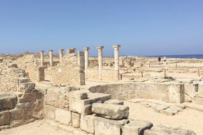 Zypern Urlaub Ausgrabungsstätte Paphos