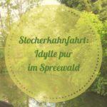 Urlaub im Spreewald: Idyllische Stocherkahnfahrt