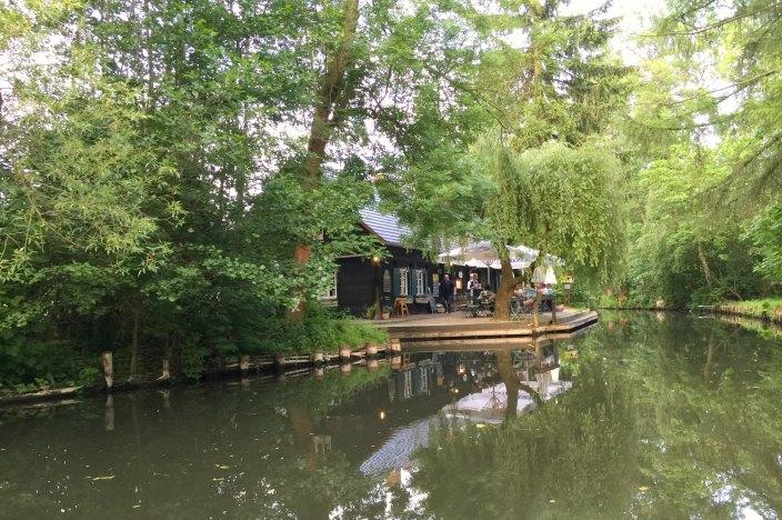 Urlaub im Spreewald Stocherkahnfahrt Einkehr Kaupen Nr. 6