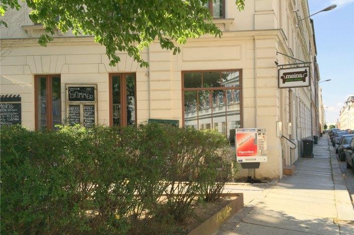 Katzencafé in Leipzig: cafe meins deins unser