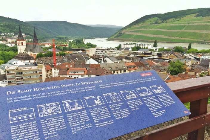 Bingen am Rhein Sehenswürdigkeiten Burg Klopp