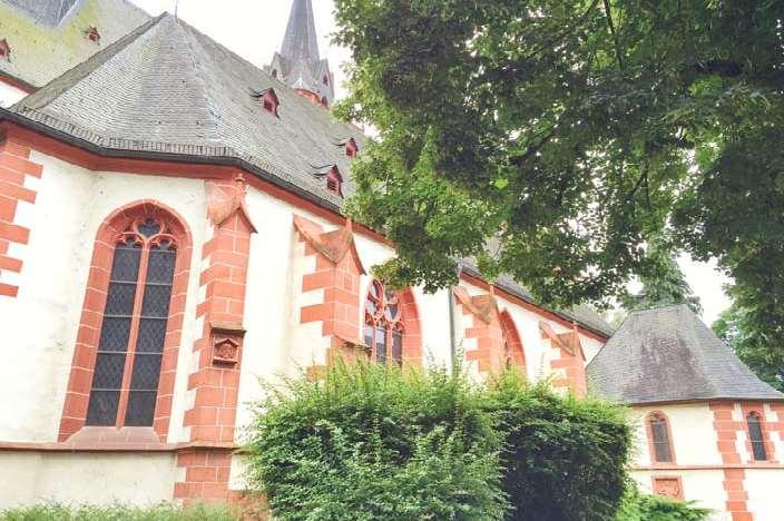 Bingen am Rhein Sehenswürdigkeiten St. Martin Basilika