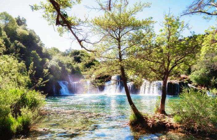 Fotoparadie Nationalparka Krka in Kroatien