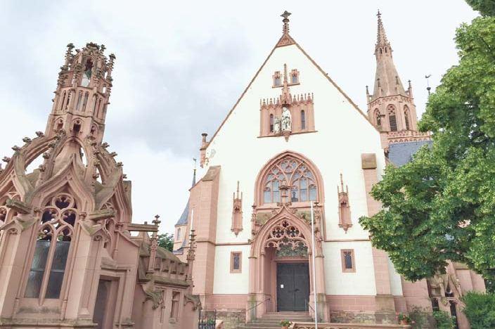 Bingen am Rhein Sehenswürdigkeiten Rochuskapelle